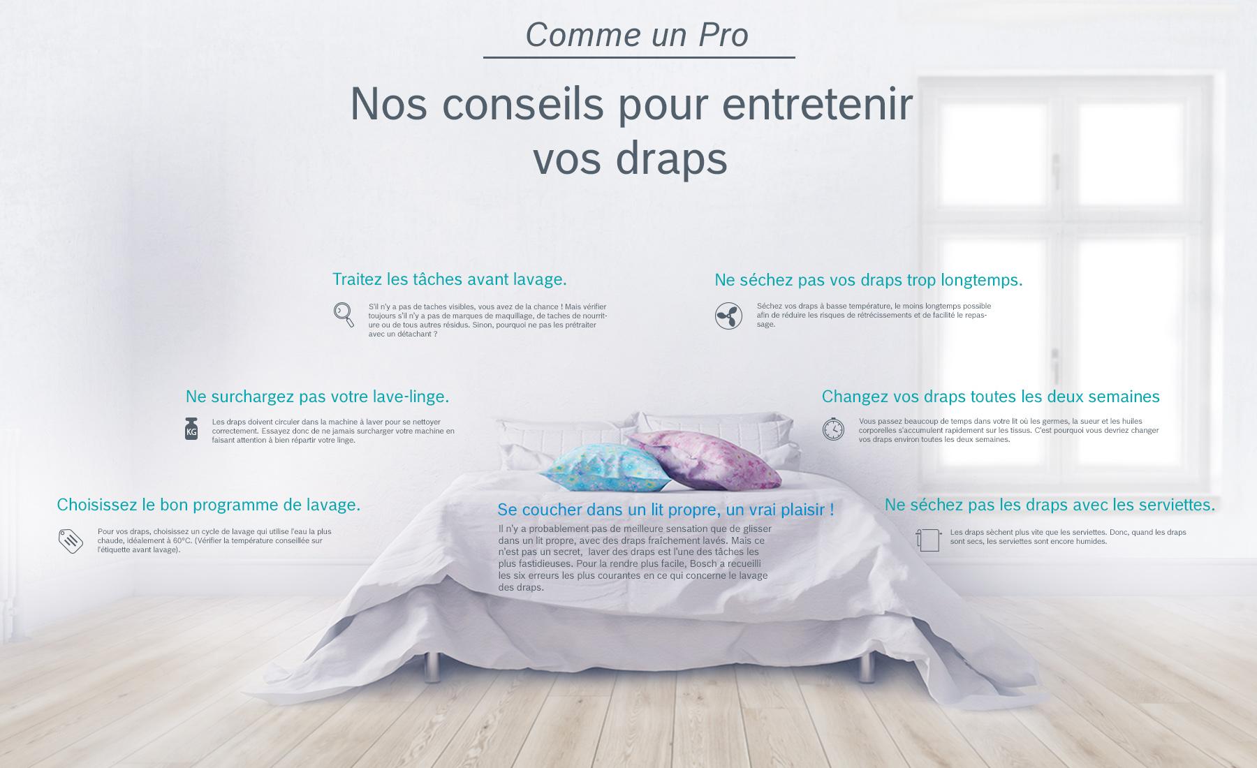 Température Machine À Laver comme un pro – nos conseils pour laver vos draps.